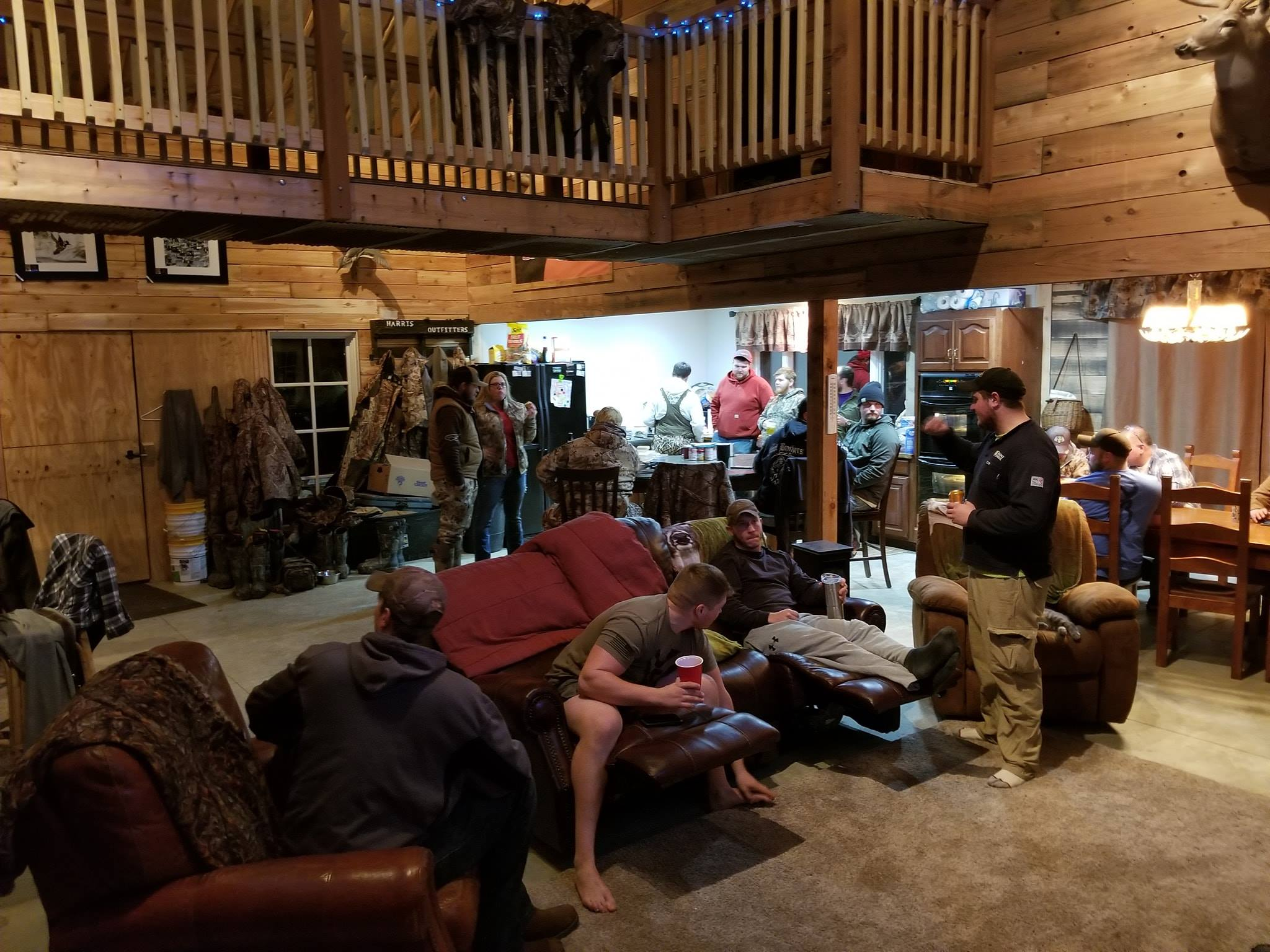 harris outfitters missouri duck hunting lodge